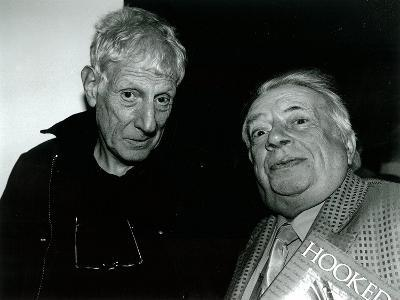 Jonathan Miller and George Melly, Mayor Gallery, 2004--Giclee Print