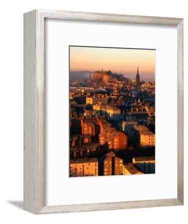 Edinburgh Castle and Old Town Seen from Arthur's Seat, Edinburgh, United Kingdom