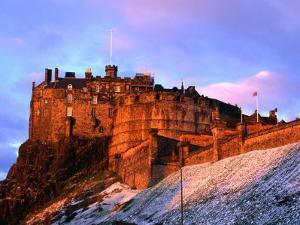 Edinburgh Castle Seen from Johnston Terrace, Edinburgh, United Kingdom by Jonathan Smith
