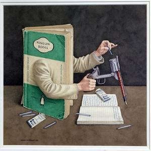 Crime Writer, 2003 by Jonathan Wolstenholme