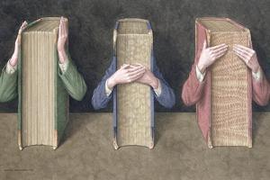 Three Wise Books, 2005 by Jonathan Wolstenholme