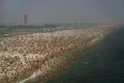 Jones Beach State Park, Long Island, New York, Millions of People Visit Jones Beach Each Summer-Robert Sisson-Photographic Print