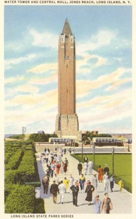 Jones Beach Water Tower, Long Island, New York