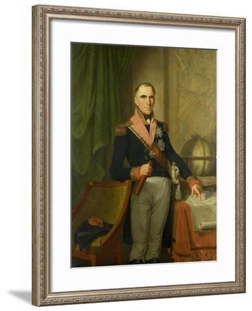 Jonkheer Theodorus Frederik Van Capellen-Cornelis van Cuylenburgh II-Framed Art Print