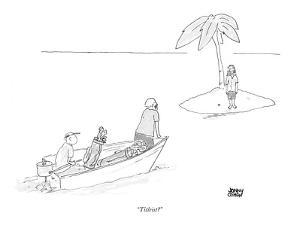 """Titleist?"" - New Yorker Cartoon by Jonny Cohen"