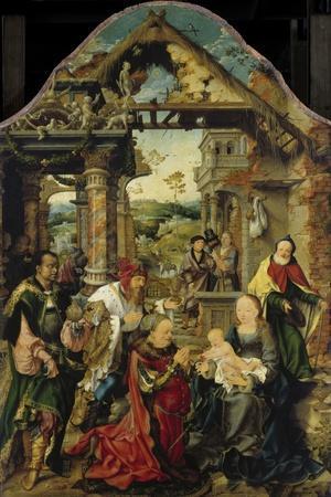 Die (kleine) Anbetung der Könige. Um 1513