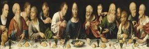 Retable de la déploration du Christ by Joos Van Cleve