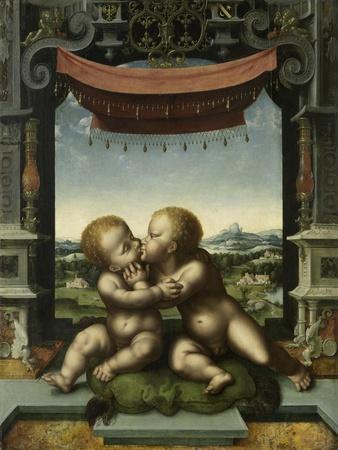 The Infants Christ and Saint John the Baptist Embracing, 1520-25