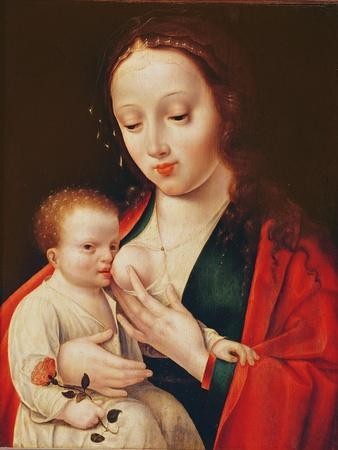 The Virgin Breastfeeding the Infant Christ