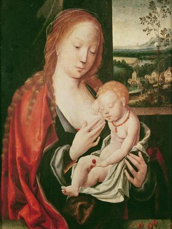 Virgin and Sleeping Child