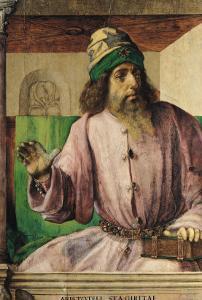 Portrait of Aristotle (384-322 BC), circa 1475 by Joos van Gent