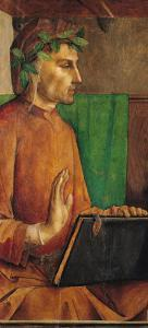 Portrait of Dante Alighieri (1265-1321), circa 1475 by Joos van Gent