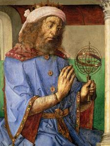 Portrait of Ptolemy, circa 1475 by Joos van Gent