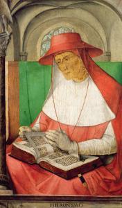 Portrait of St. Jerome by Joos van Gent