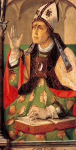 Saint Augustine by Joos van Gent