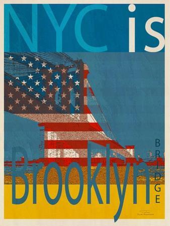 NYC Is Brooklyn Bridge by Joost Hogervorst