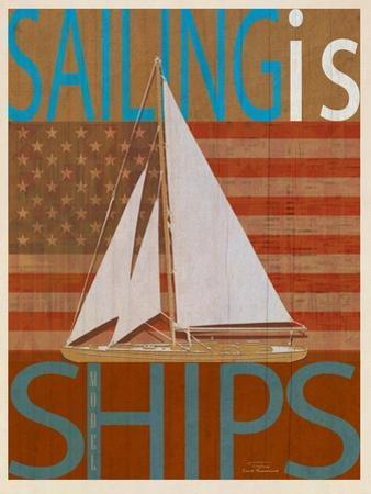 Sailing Is Model I on Wood by Joost Hogervorst