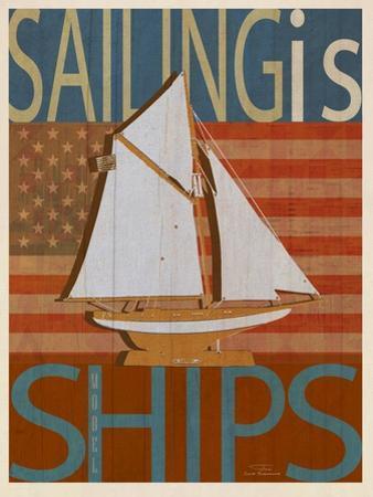 Sailing Is Model Ships Columbia by Joost Hogervorst