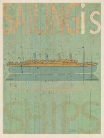 Sailing Is Titanic Model by Joost Hogervorst