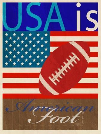USA Is American Football by Joost Hogervorst