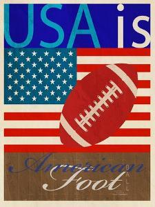 USA Is American Football by Joost Hogervorst