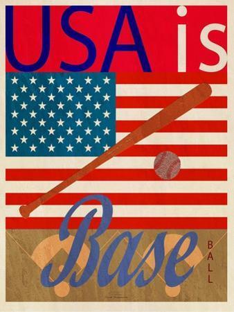 USA Is Baseball by Joost Hogervorst