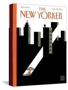 The New Yorker Cover - August 20, 2007 by Joost Swarte