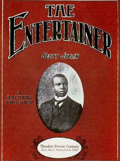 Joplin: Entertainer-Scott Joplin-Giclee Print
