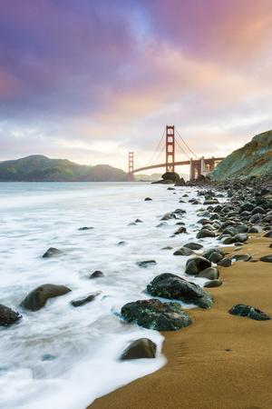 North America, USA, America, California, San Francisco, View of the Golden Gate bridge from Marshal