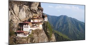 Paro Taktsang (Tigers Nest Monastery), Paro District, Bhutan, Himalayas, Asia by Jordan Banks