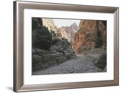 Jordan, Petra, Siq--Framed Giclee Print