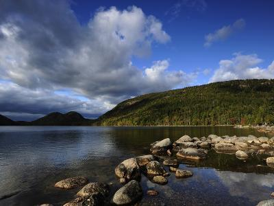 Jordan Pond in the Fall-Raul Touzon-Photographic Print