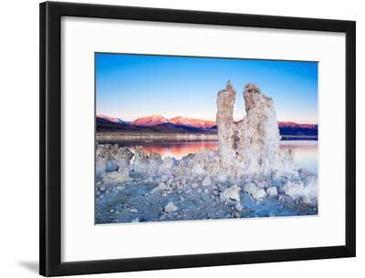 Tufa Rock Formations, South Tufa, Mono Lake, California, with the Eastern Sierras, the