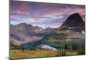 Sunset Sky over Hidden Lake. Glacier National Park, Montana by Jordi Elias Grassot