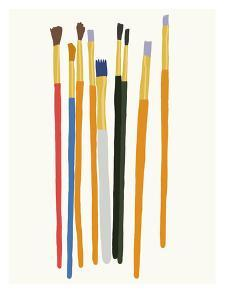 Brushes by Jorey Hurley