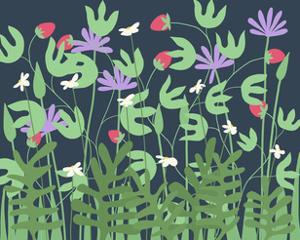 Nighttime Flowers 2 by Jorey Hurley