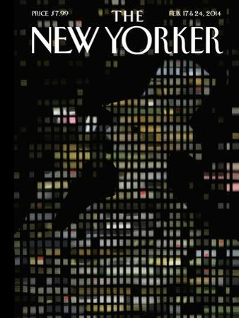 Night Windows - The New Yorker Cover, February 17, 2014