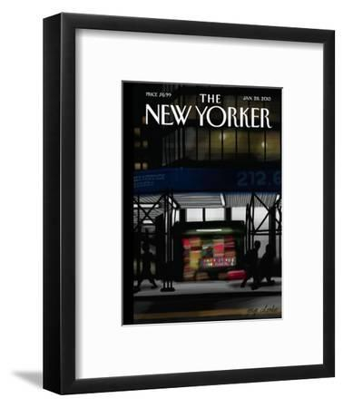 The New Yorker Cover - January 28, 2013
