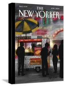 The New Yorker Cover - June 1, 2009 by Jorge Colombo