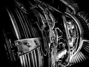The Engine of a 737-400 by Jorge Fajl