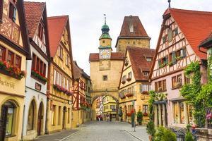 Rothenburg Ob Der Tauber by Jos? Fuste Raga