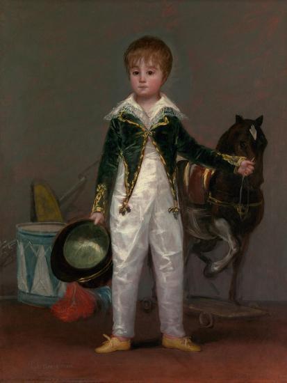 José Costa y Bonells (died 1870), Called Pepito, c.1810-Francisco de Goya-Giclee Print