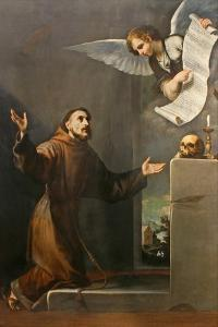 Saint Francis Receives the Stigmata, First Third of 17th C by José de Ribera
