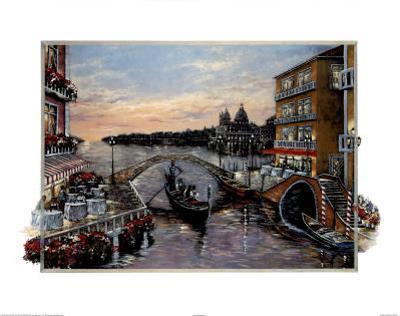 Jose (Evening in Venice) Art Print Poster