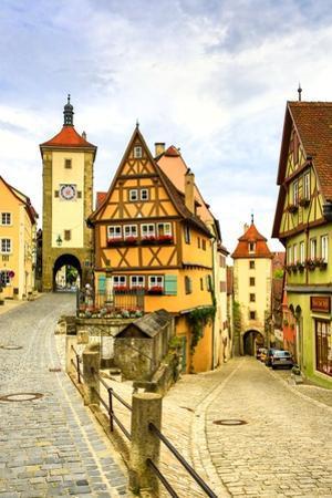 Rothenburg Ob Der Tauber by José Fuste Raga
