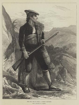 The Civil War in Spain, a Carlist Volunteer