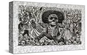 Calavera from Oaxaca by Jose Guadalupe Posada