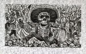 Calavera from Oaxaca by Jose Guadalupe Posada