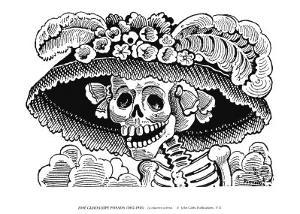 Calivera Catrina by Jose Guadalupe Posada