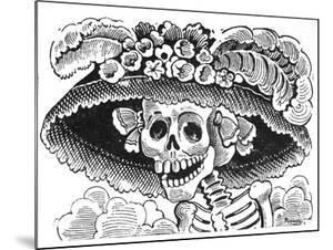 La Calavera de La Catrina, 1913 by Jose Guadalupe Posada